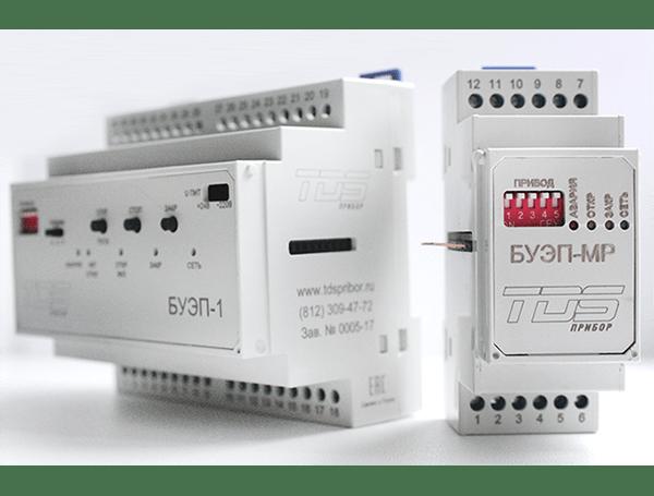 Блоки управления приводами клапанов серии БУЭП