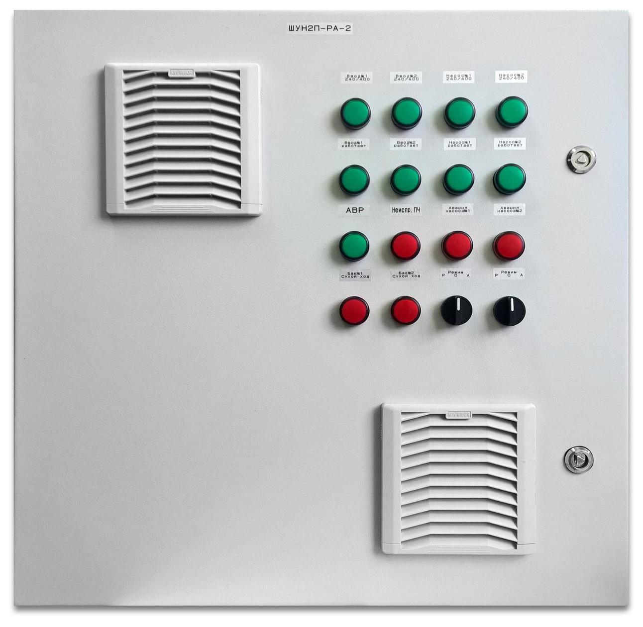 Шкаф управления одним пожарным насосом ШУПН1-16