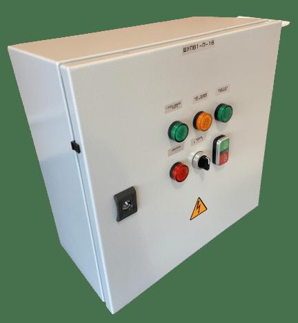 Шкаф управления вентилятором дымоудаления или подпора воздуха ШУПВ1-П-25(IP54)