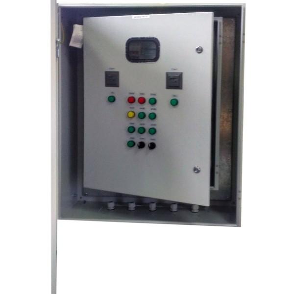 Шкаф управления дренажным насосом с диспетчеризацией GSM ШУН2Д-Д-50 (IP65)