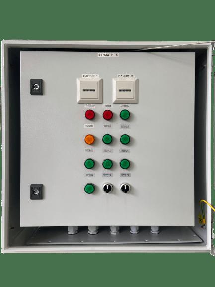 Шкаф управления дренажным насосом с прямым пуском и обогревом ШУН2Д-Н-50 (IP65)