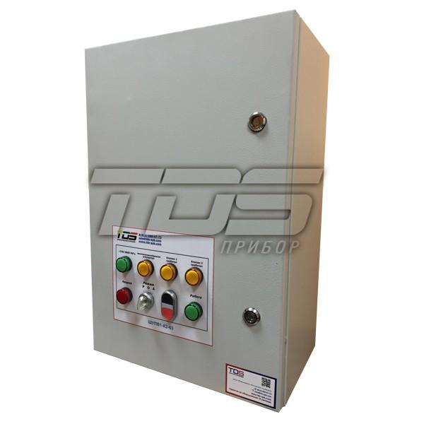 Шкаф управления вентилятором дымоудаления и одним клапаном ШУПВ1/1-1-ХХ-Х-XX(IP54)