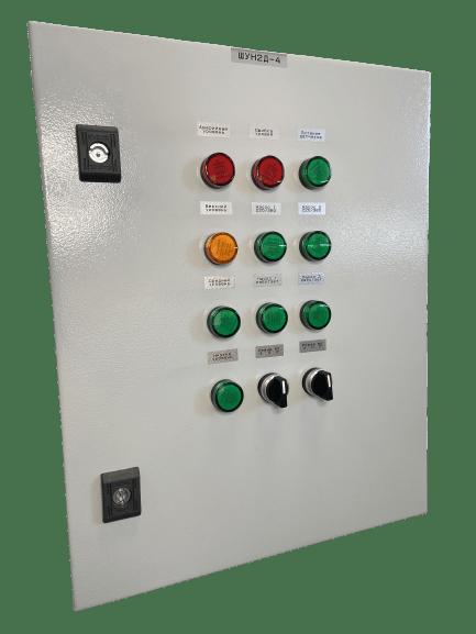 Шкаф управления вентилятором дымоудаления и двумя клапанами ШУПВ1/2-1-X-XX-XX(IP54)
