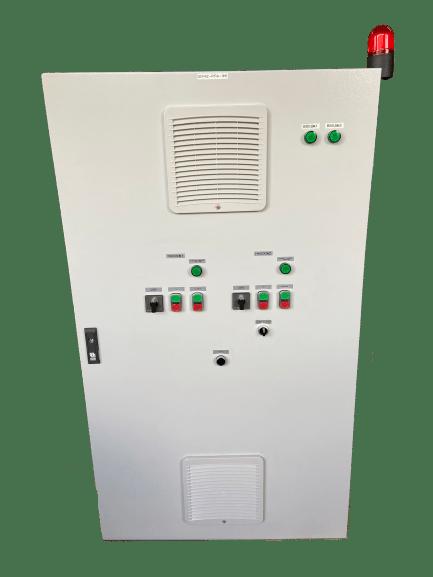 Шкаф управления двумя повысительными насосами ШУПН2-63-Р (IP54)