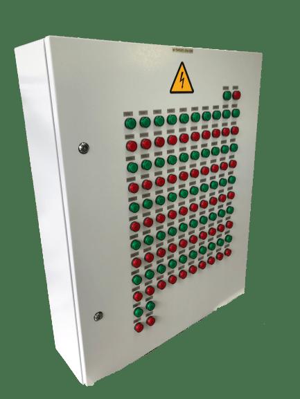 Шкаф управления электромеханическими противопожарными клапанами ШУПК29-П-ХХ-ХХ (IP54)