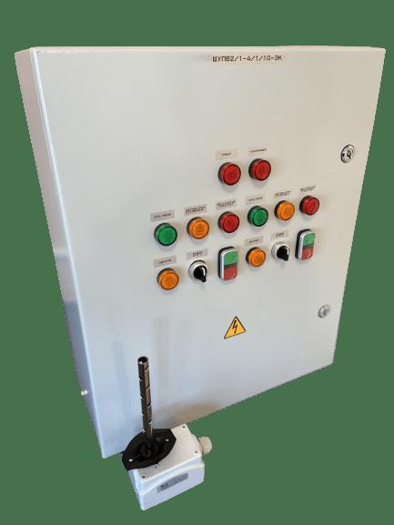 Шкаф управления вентилятором и электрокалорифером для зон МГН ШУПВ1/1-4/4-ЭК (IP54)