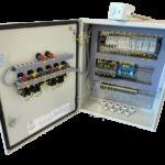 Шкафы управления вентилятором и электрокалорифером1