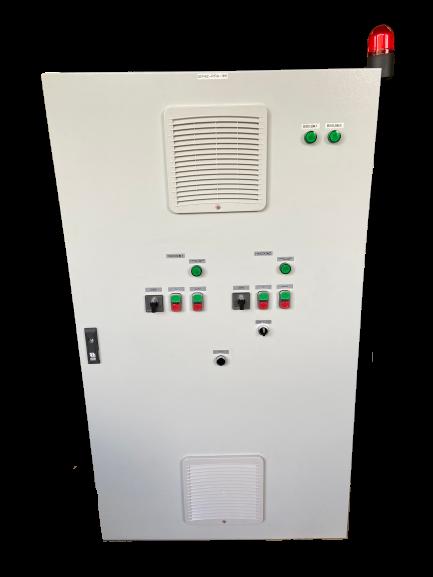 Шкаф управления двумя повысительными насосами с частотным преобразователем ШУН2П-27-РЛ (IP54)